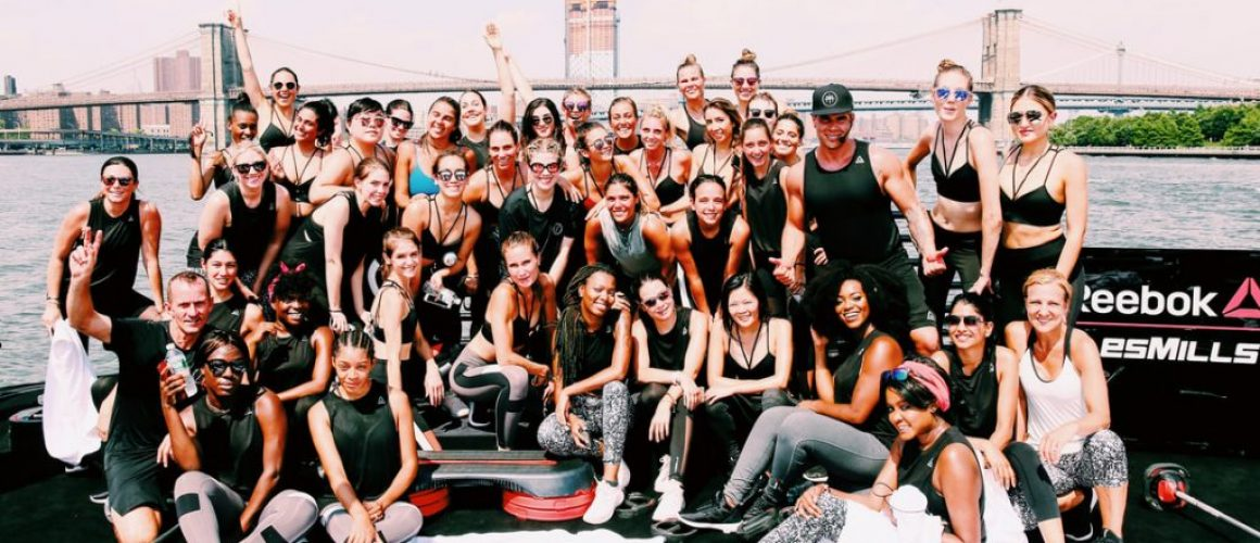 5 social media lessons from an influencer event with Reebok + Les Mills + Nina Dobrev...