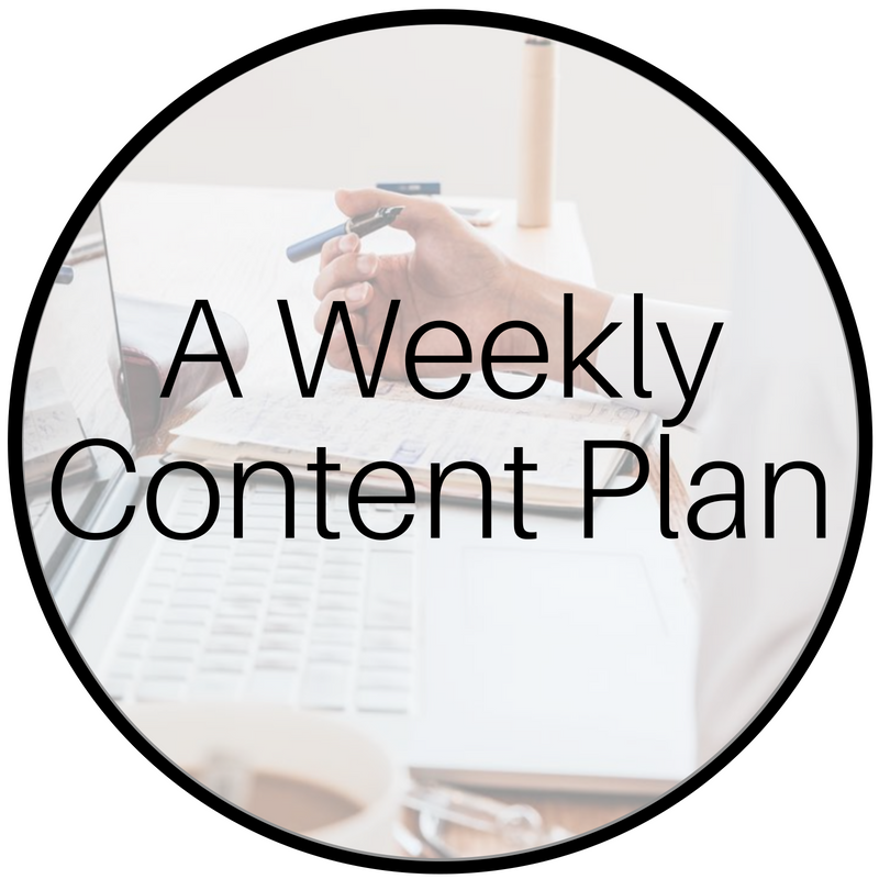Coach Social - A Weekly Content Plan